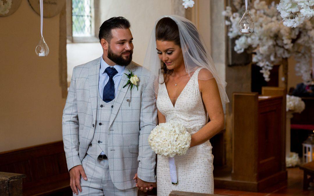 St Nicholas Church Bishop Sutton Wedding Photographer